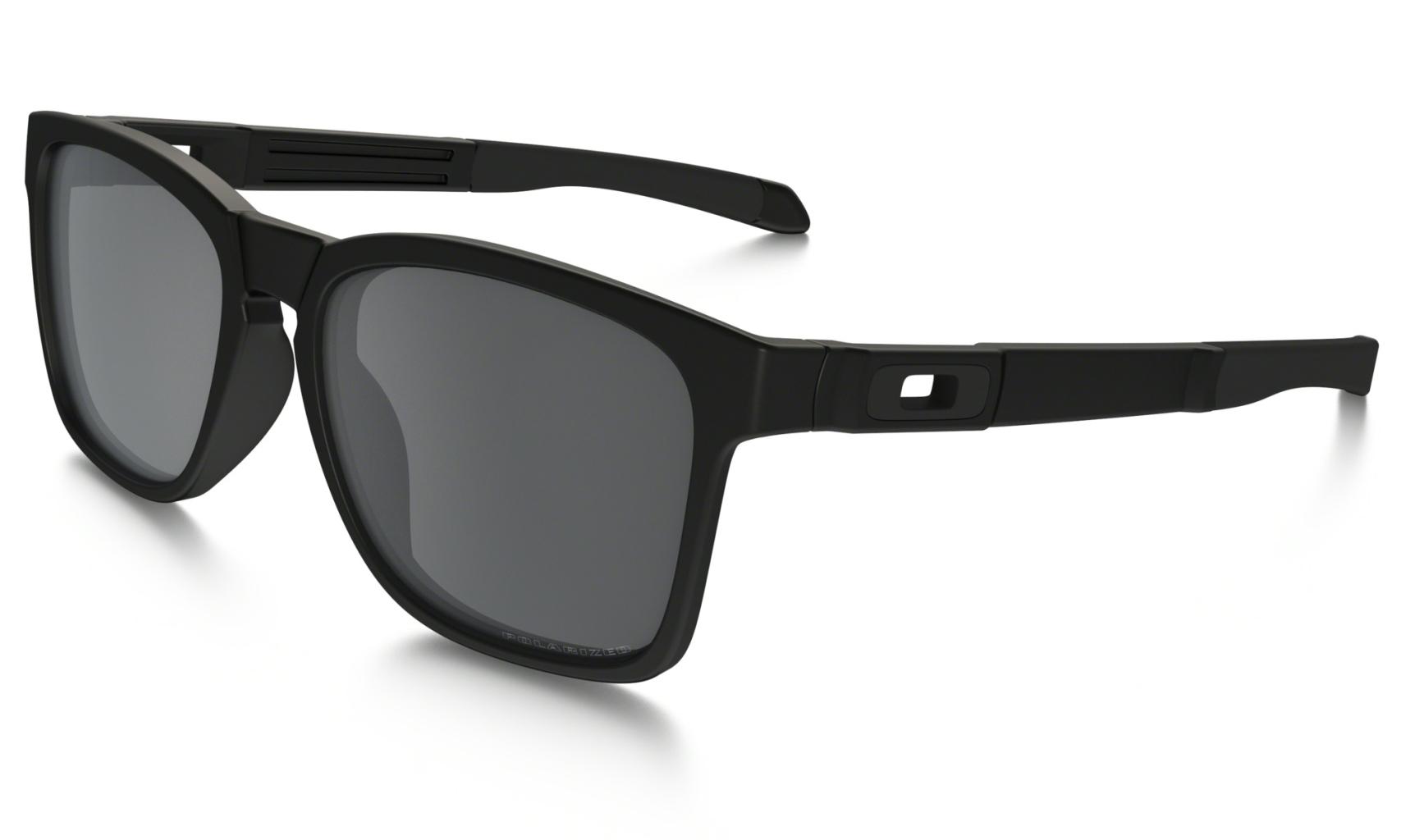Oakley Catalyst Matte Black w/ BlkIrdPolar-30