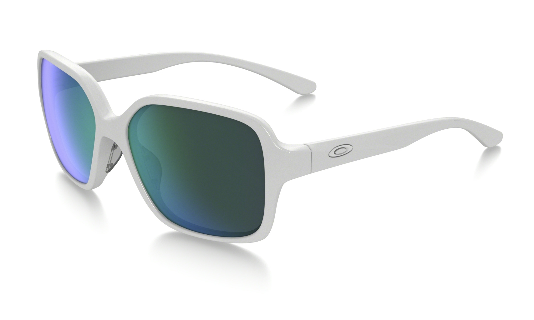Oakley Proxy Polished White w/ Jade Iridium-30