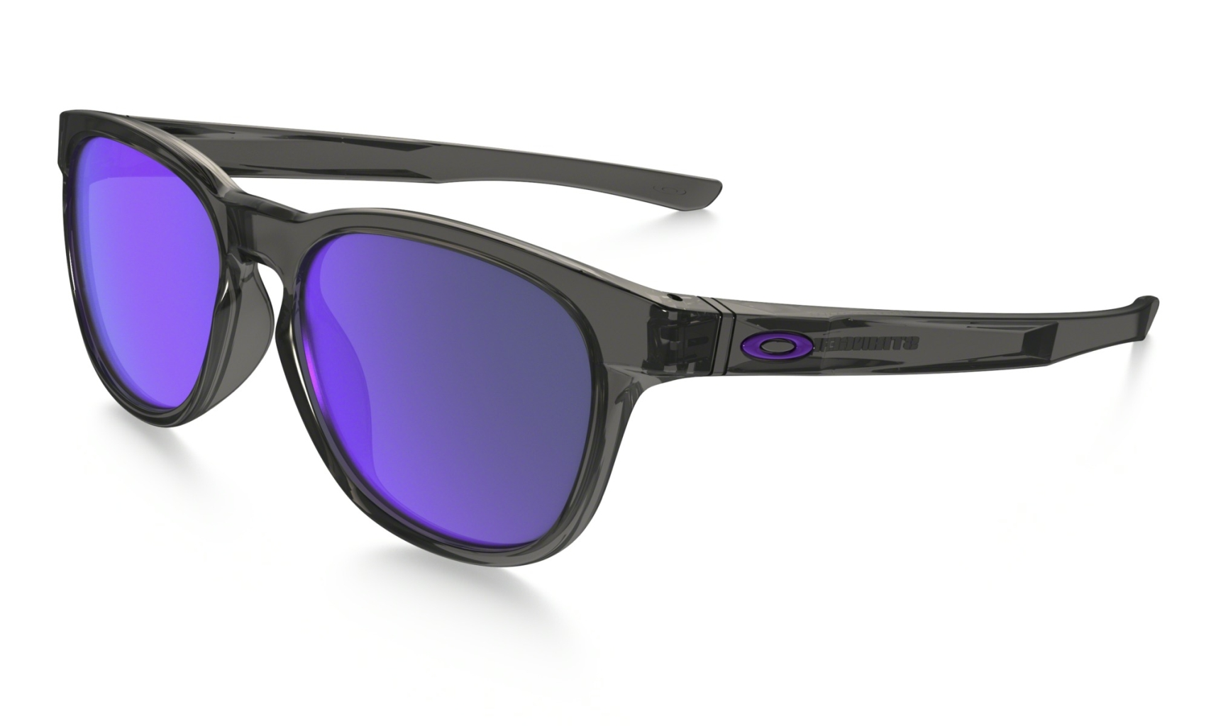 Oakley Stringer Grey Smoke w/ Violet Iridium-30