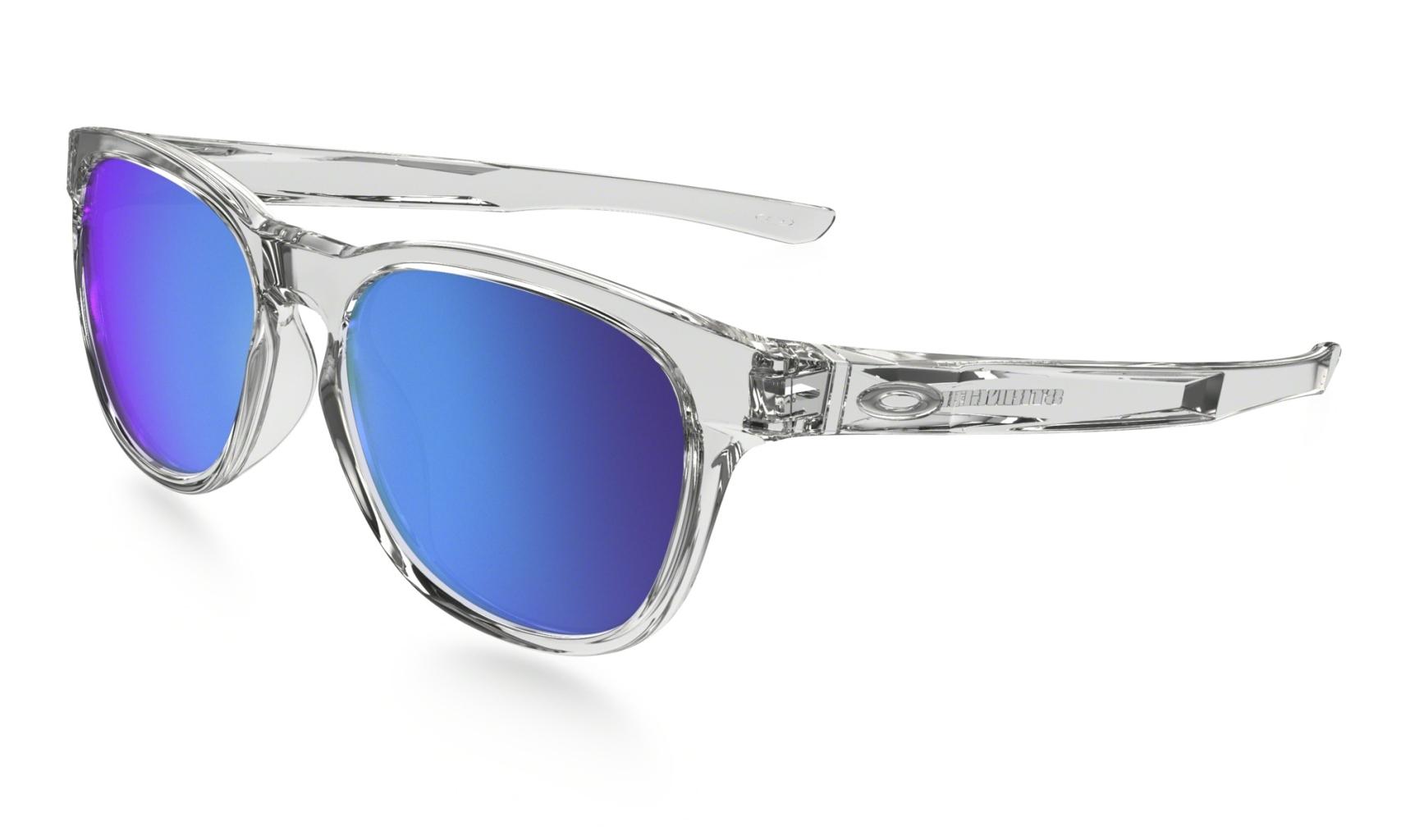 Oakley Stringer Polished Clear w/ Sapphire Iridium-30