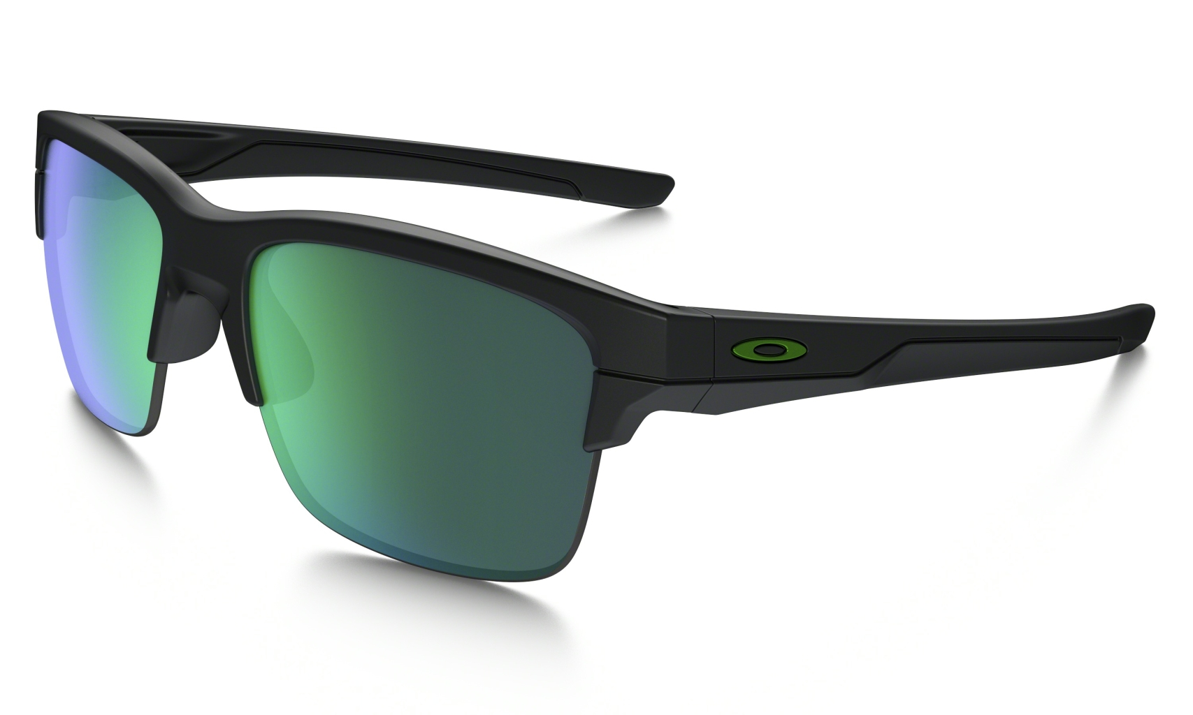 Oakley Thinlink Matte Black w/ Jade Iridium-30