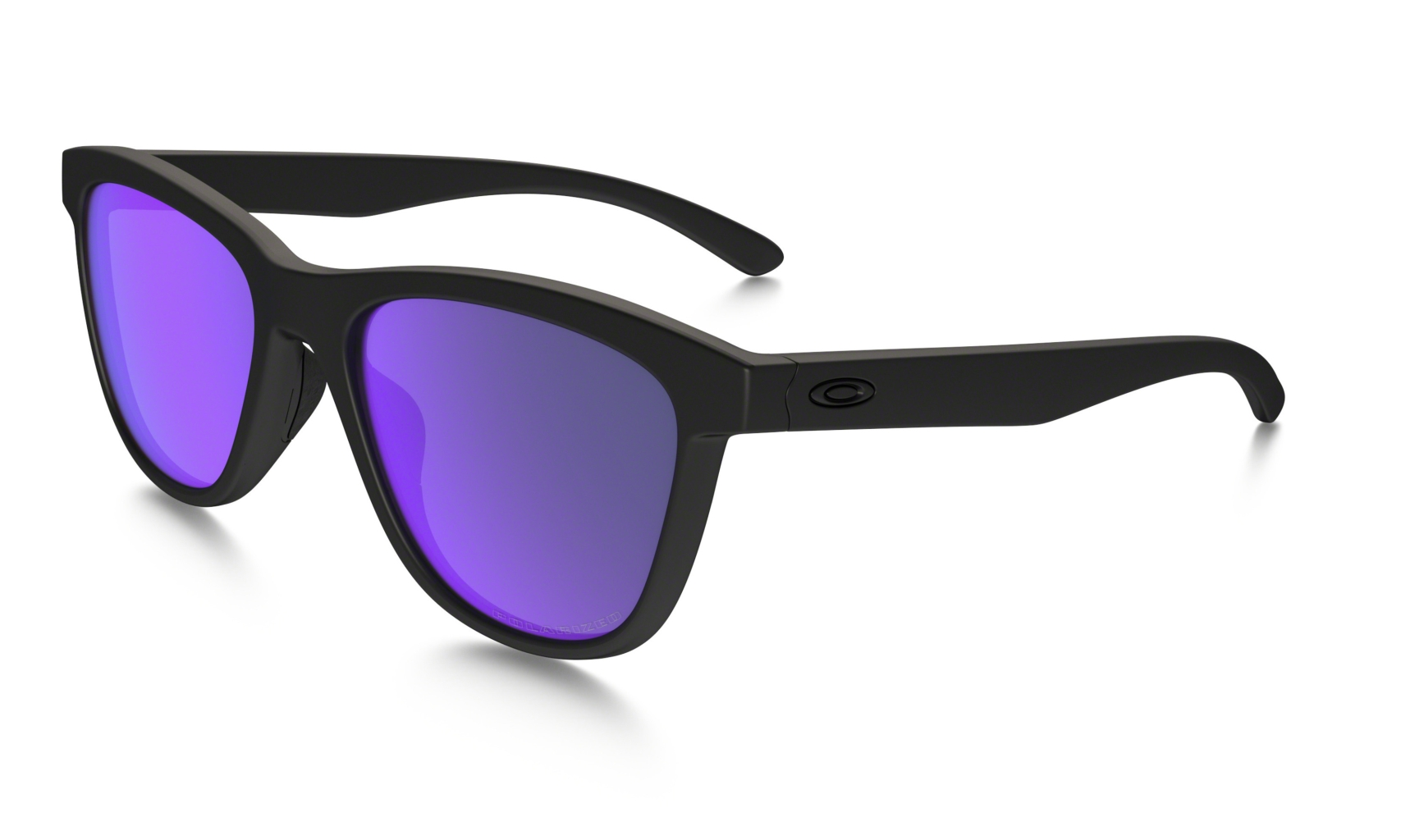Oakley Moonlighter Matte Black w/ Violet Iridium Polar-30