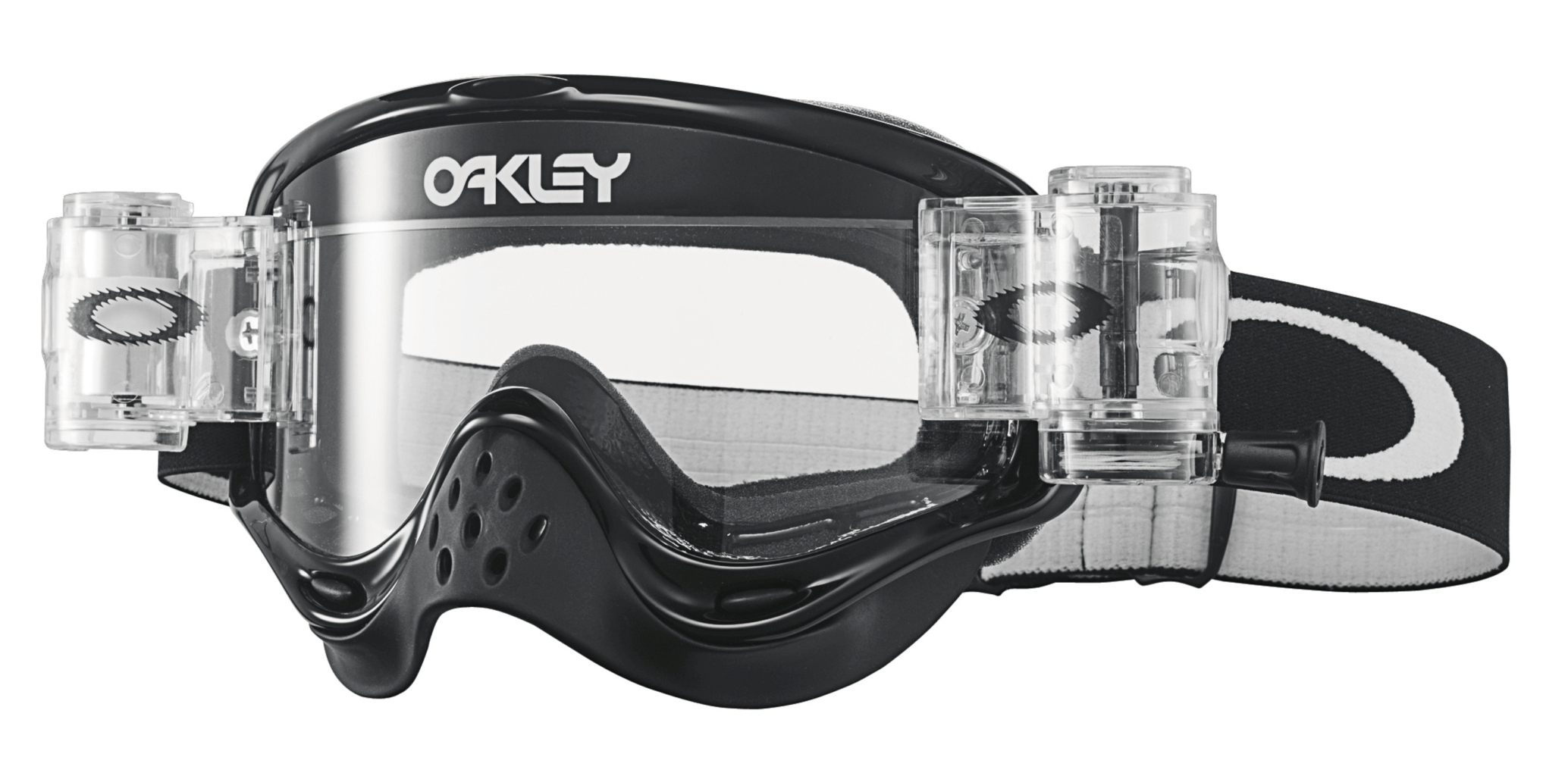 Oakley O Frame MX RaceReady Jet Black w/ Clear-30