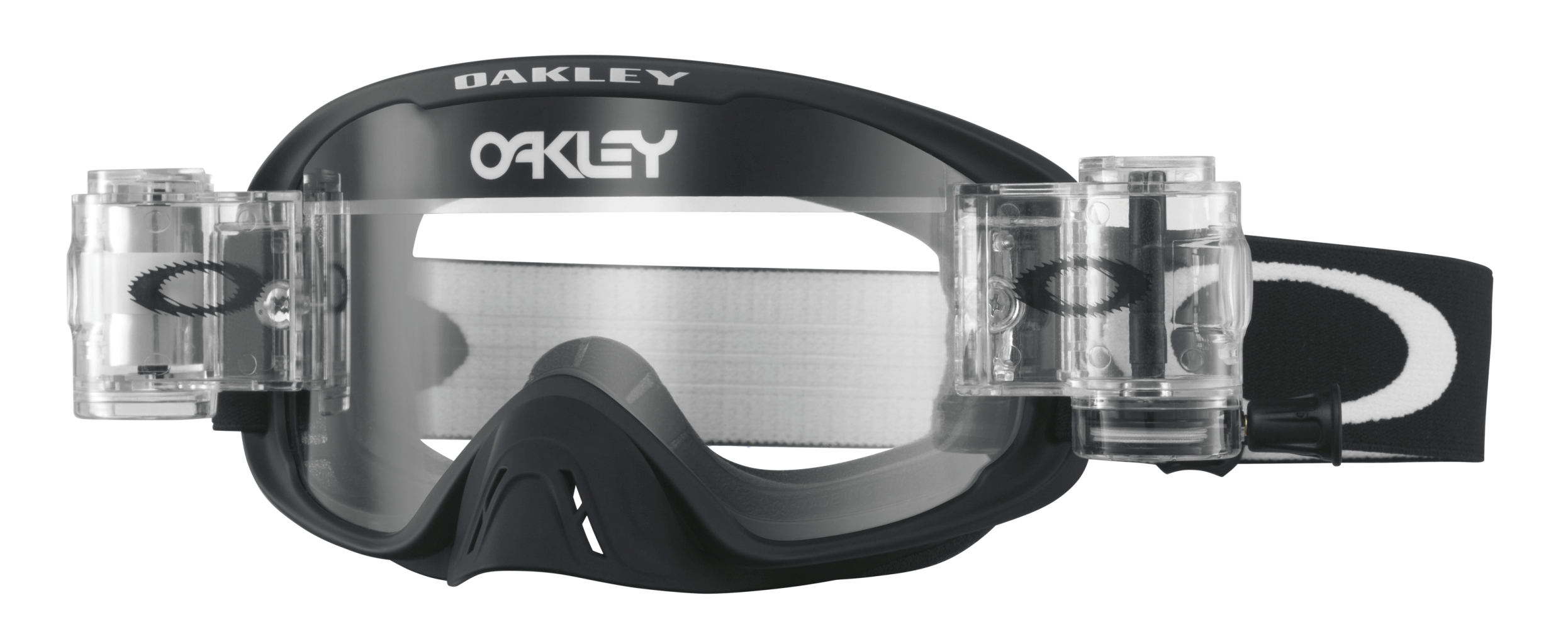 Oakley O2 Mx Frame: MATTE BLACK Lens: CLEAR-30