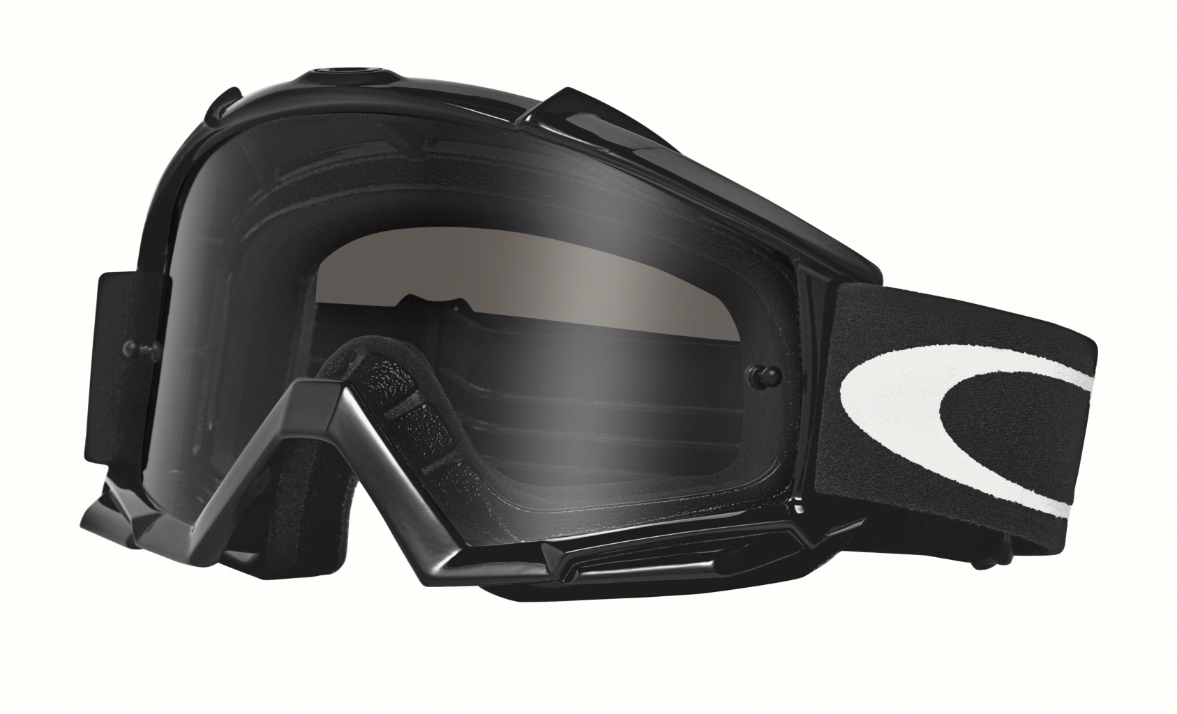 Oakley Proven Mx Frame: JET BLACK Lens: DARK GREY-30
