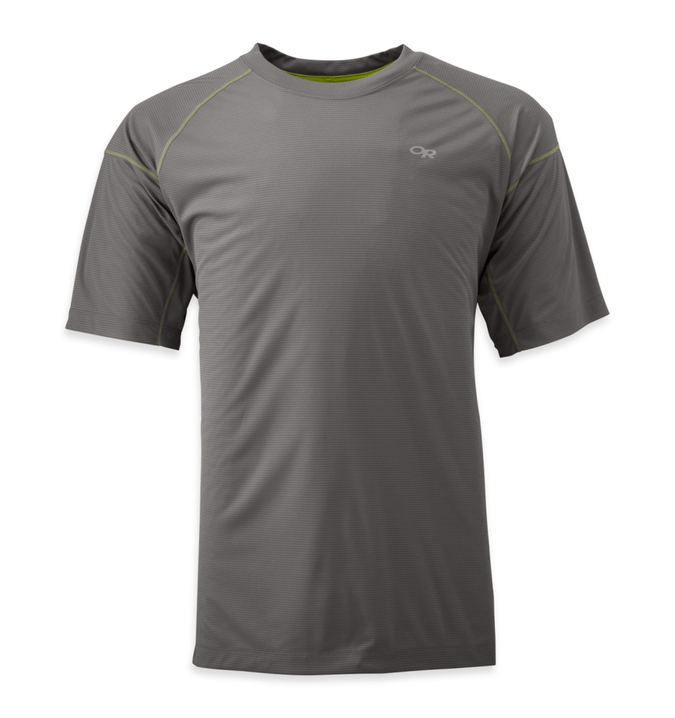 Outdoor Research Men's Echo Tee pewter-30