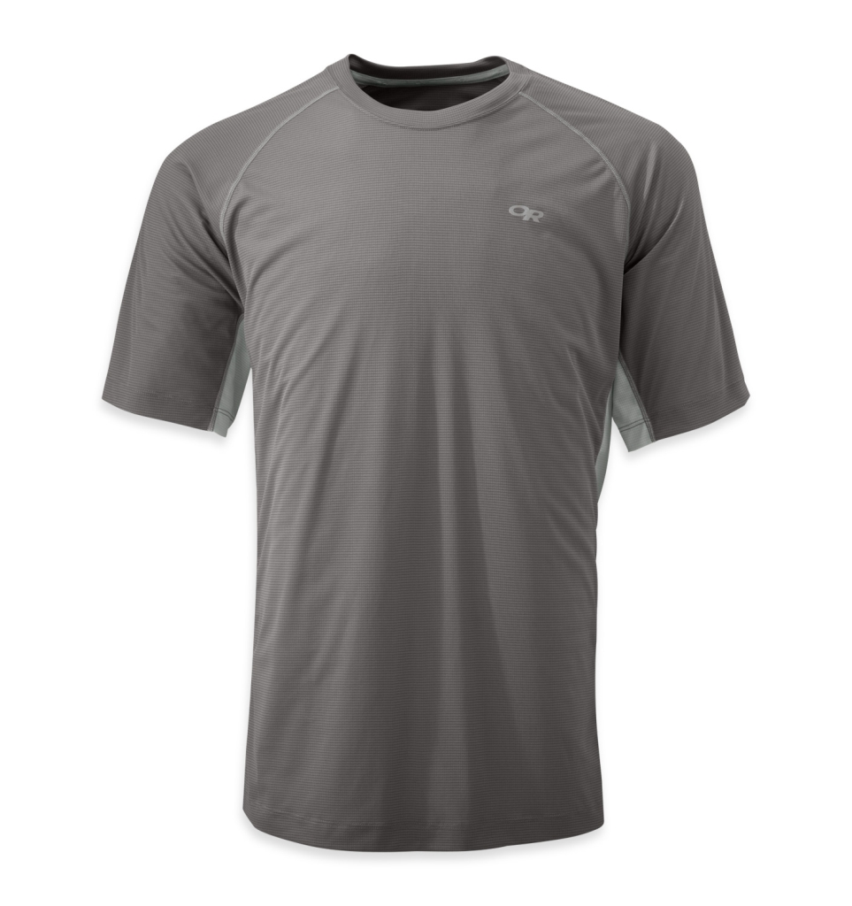 Outdoor Research Men's Echo Tee alloy/pewter-30