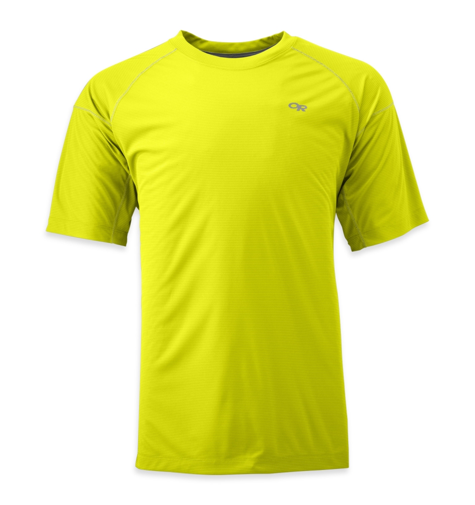 Outdoor Research Men's Echo Tee jolt/pewter-30