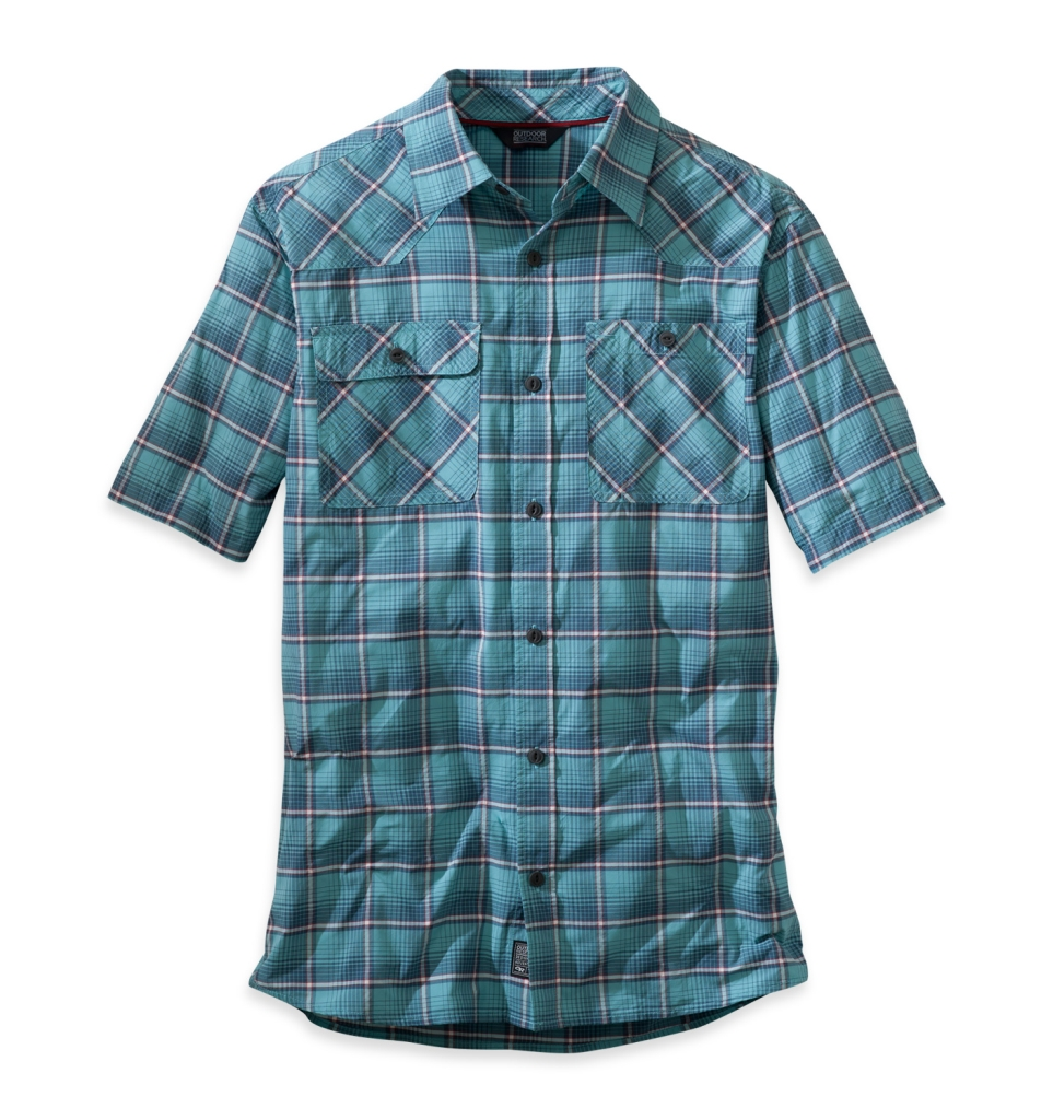 Outdoor Research Men's Growler S/S Shirt ice/charcoal-30