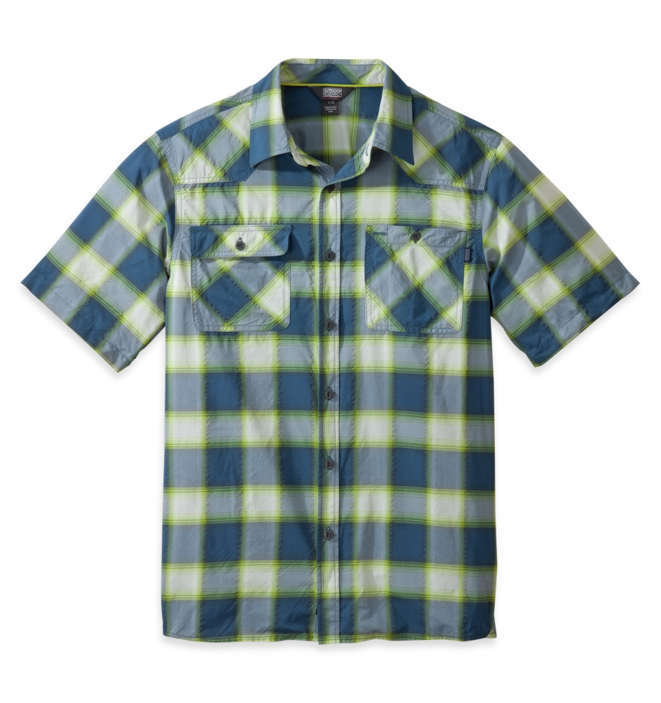 Outdoor Research Men's Growler S/S Shirt dusk/palm-30