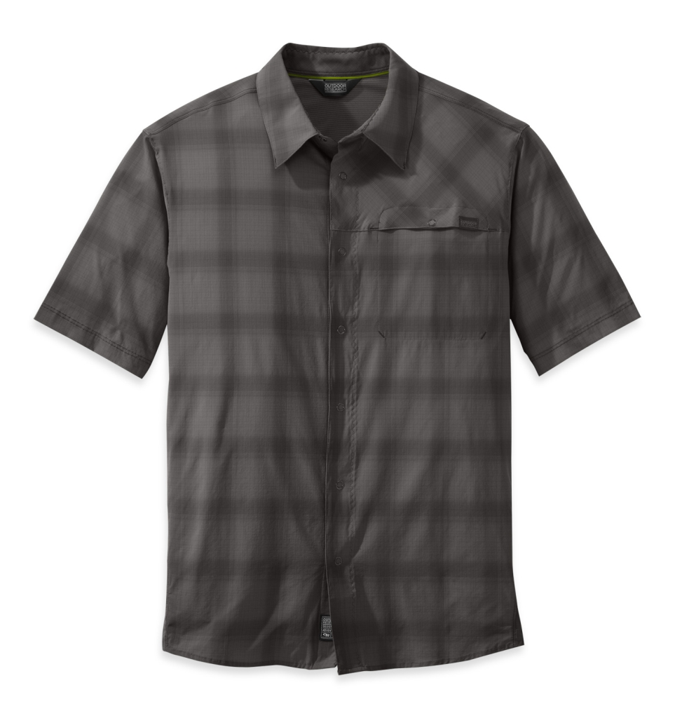 Outdoor Research Men's Astroman S/S Shirt pewter/charcoal-30