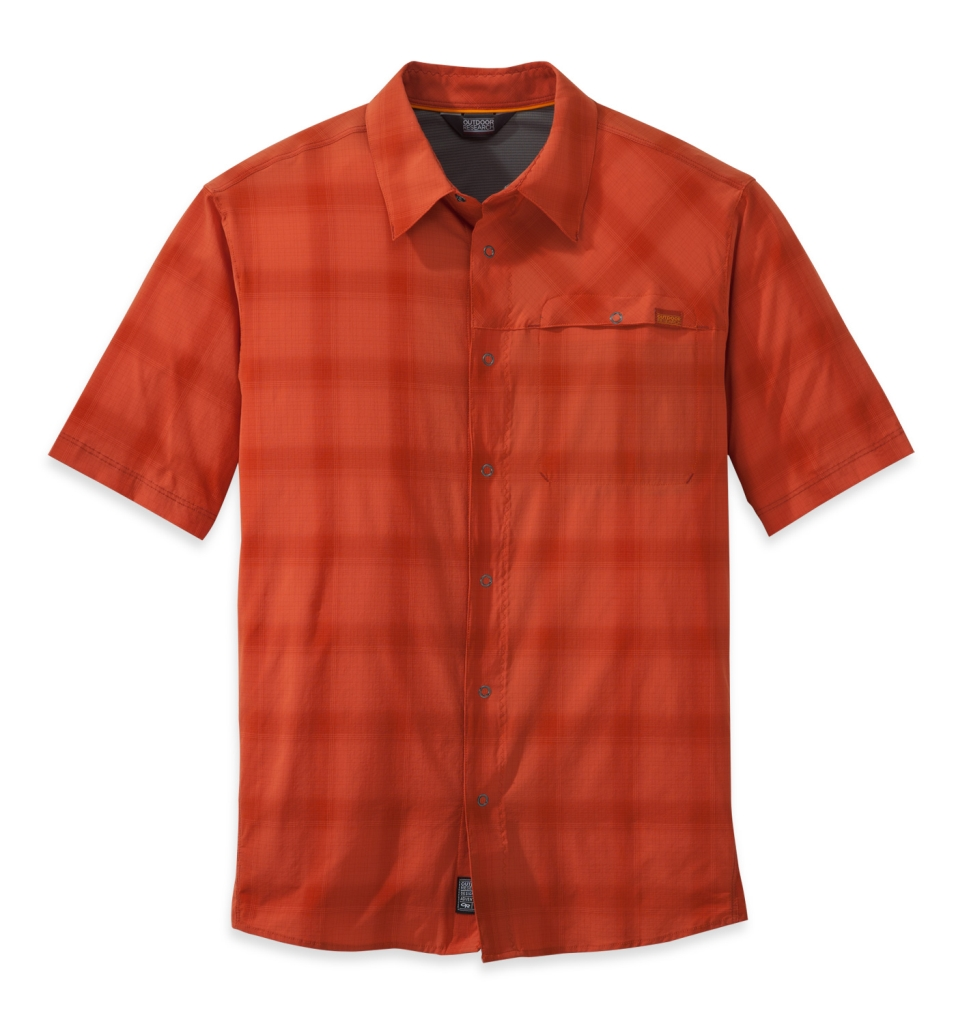 Outdoor Research Men's Astroman S/S Shirt diablo/hot sauce-30