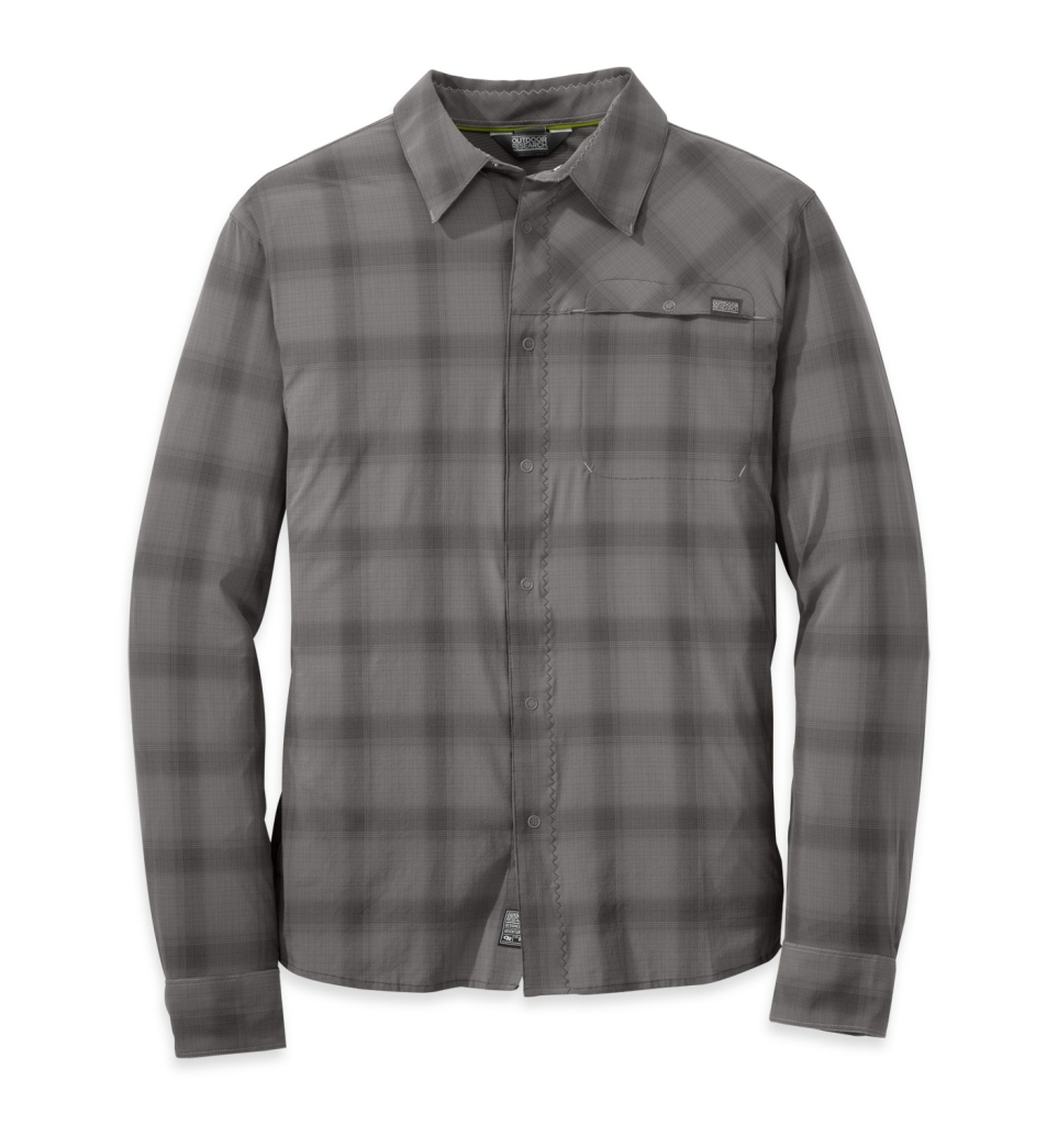 Outdoor Research Men's Astroman L/S Shirt pewter/charcoal-30