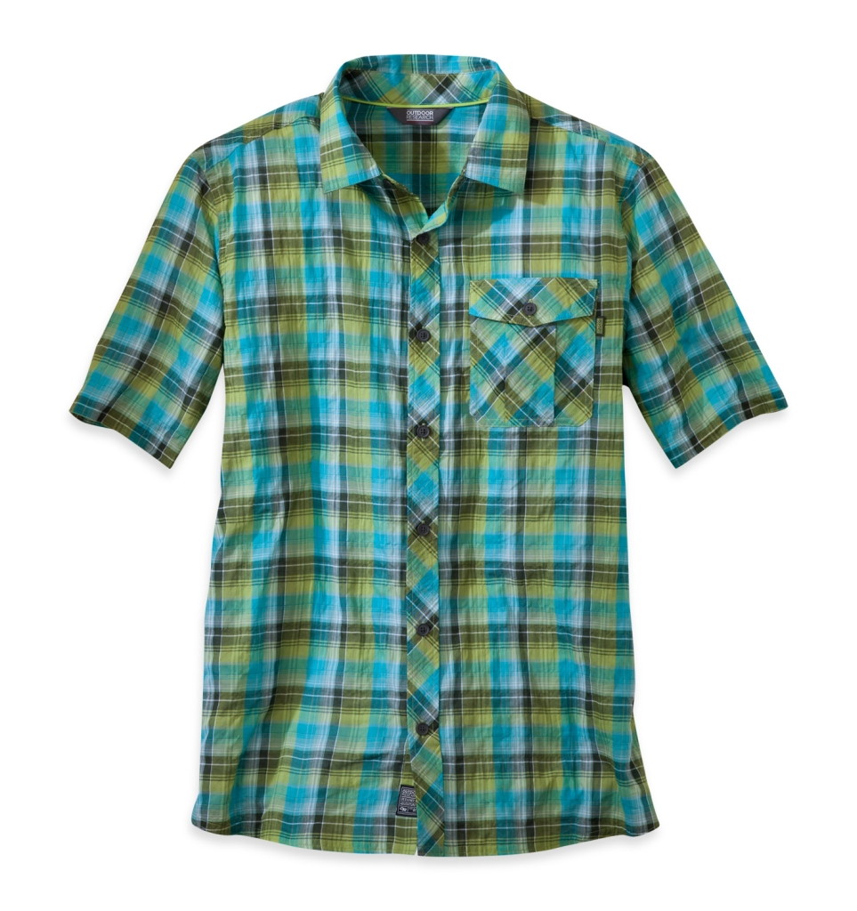 Outdoor Research Men's Jinx S/S Shirt pewter/alloy-30