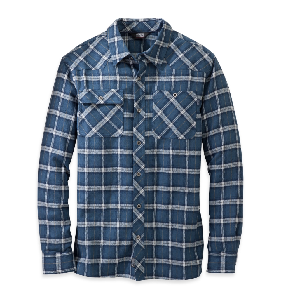 Outdoor Research Men's Feedback Flannel Shirt Dusk-30