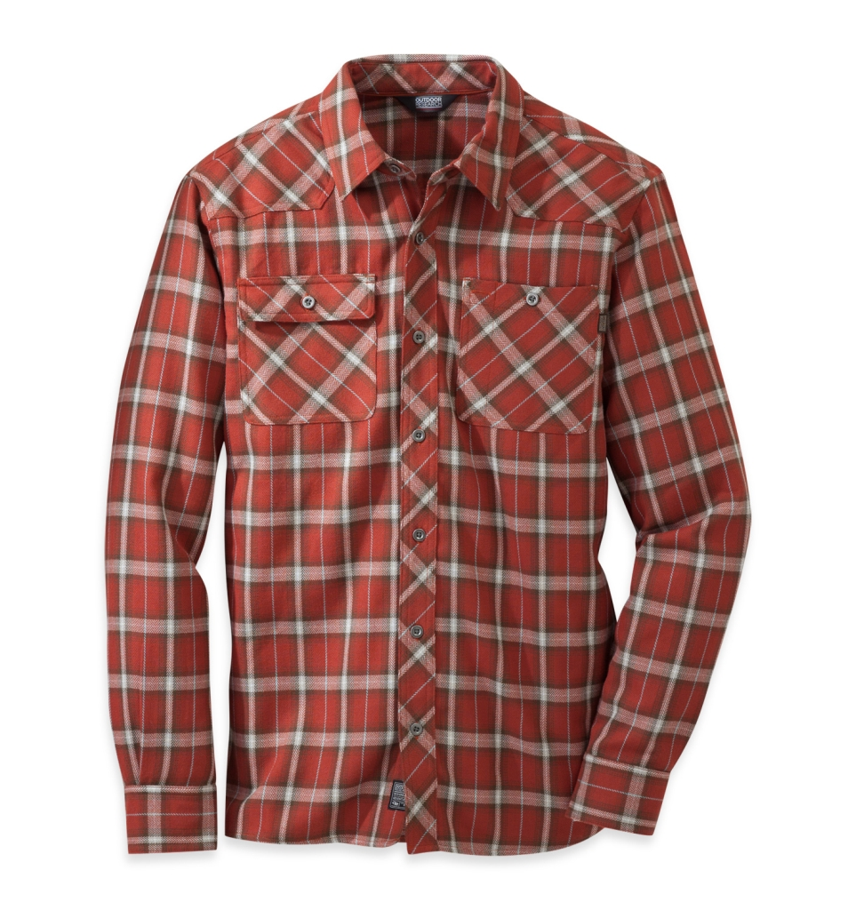 Outdoor Research Men's Feedback Flannel Shirt Taos-30