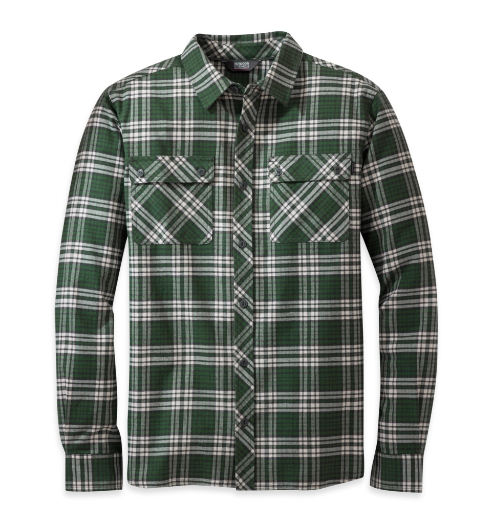 Outdoor Research Men's Crony L/S Shirt Evergreen-30