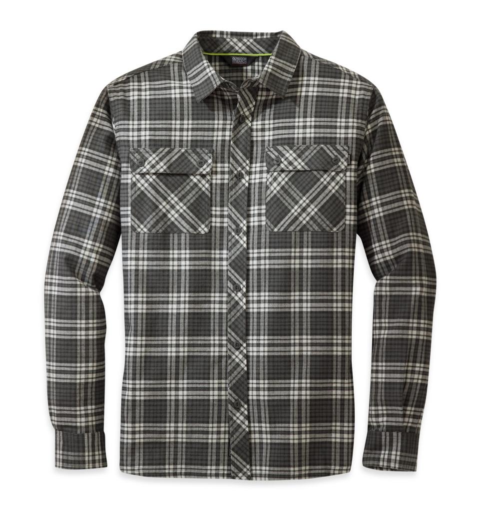 Outdoor Research Men's Crony L/S Shirt Charcoal-30