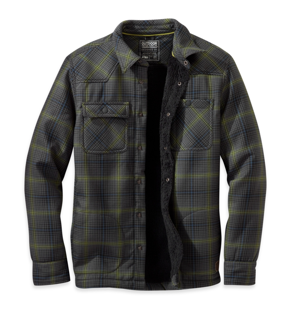 Outdoor Research Men's Sherman Jacket M Charcoal-30