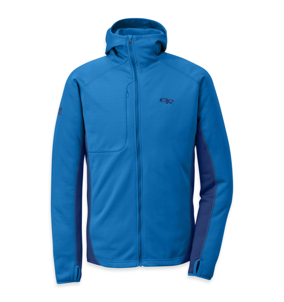 Outdoor Research Men's Radiant Hybrid Hoody Glacier/Balt-30