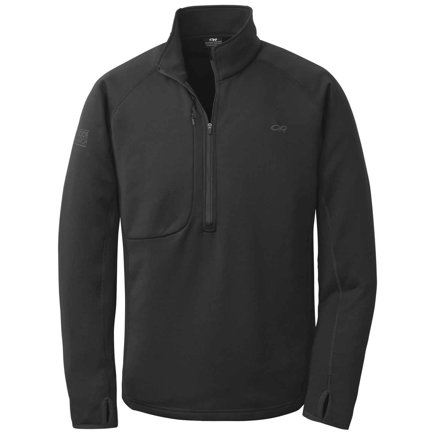 Outdoor Research Men's Radiant Hybrid Pullover black-30