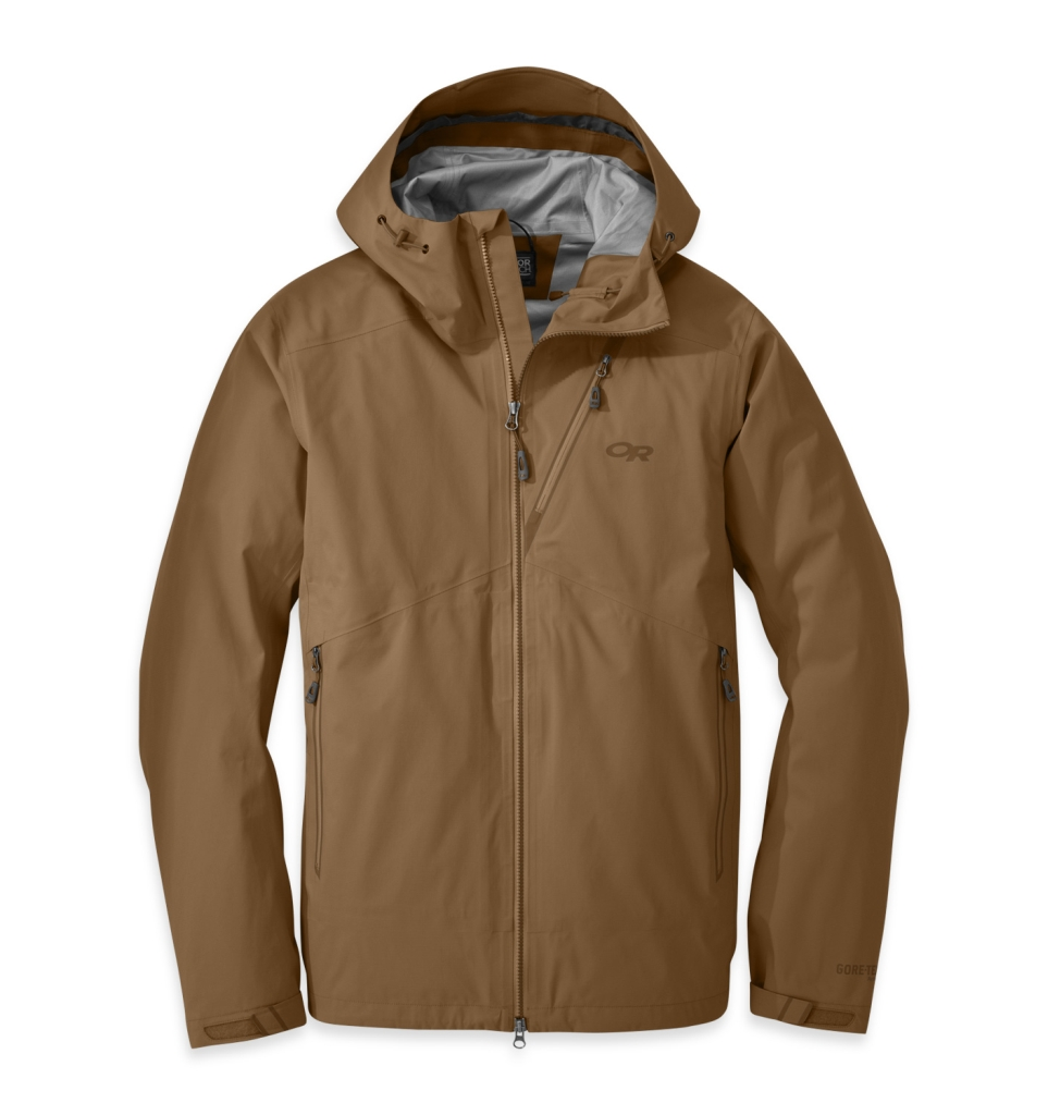 Outdoor Research Men's Axiom Jacket Coyote-30
