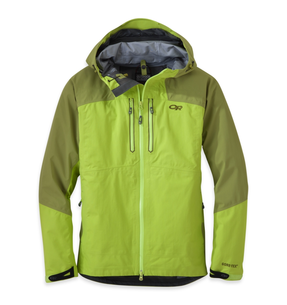 Outdoor Research Men's Furio Jacket Lemongrass/Hops-30