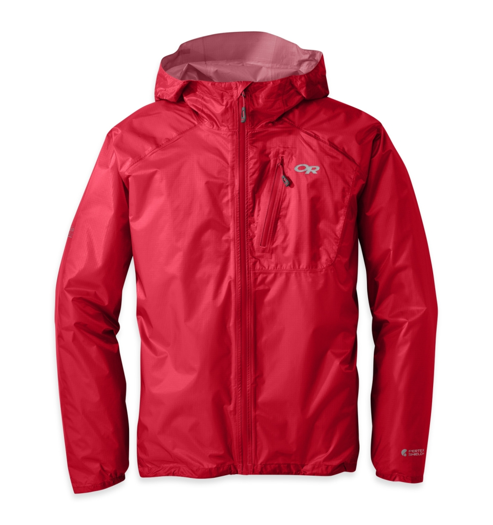 Outdoor Research Men's Helium II Jacket Hot Sauce-30