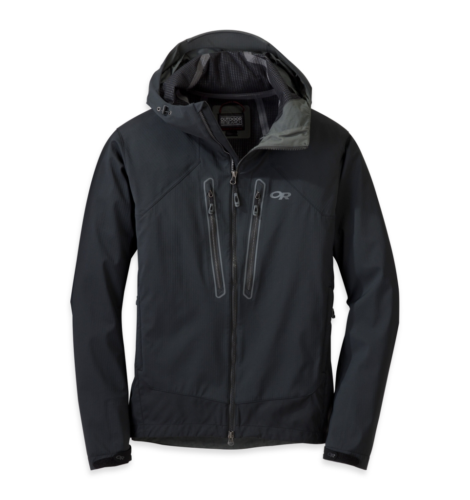 Outdoor Research Men's Iceline Jacket Black-30