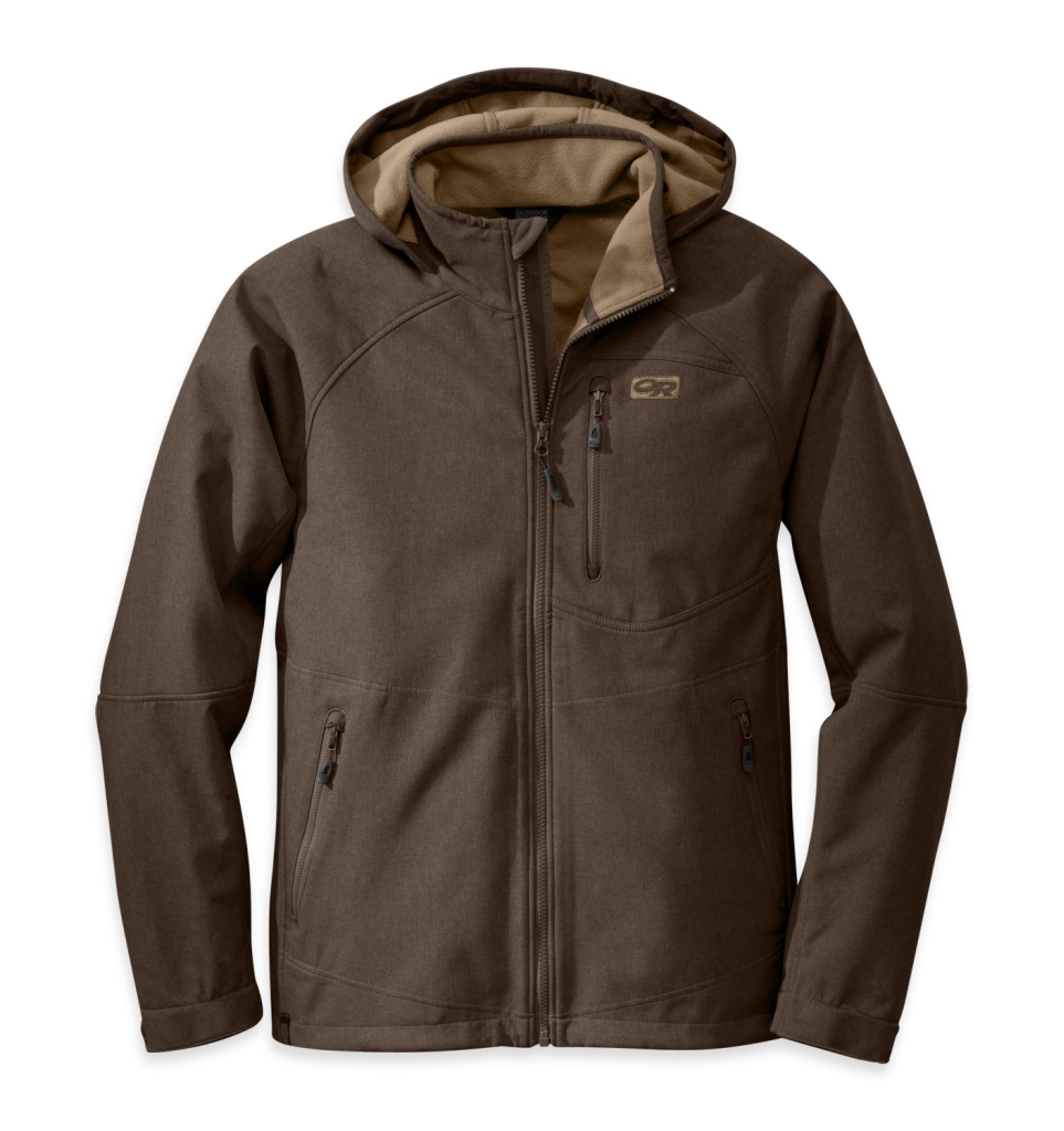 Outdoor Research Men's Deadbolt Hoody Earth-30