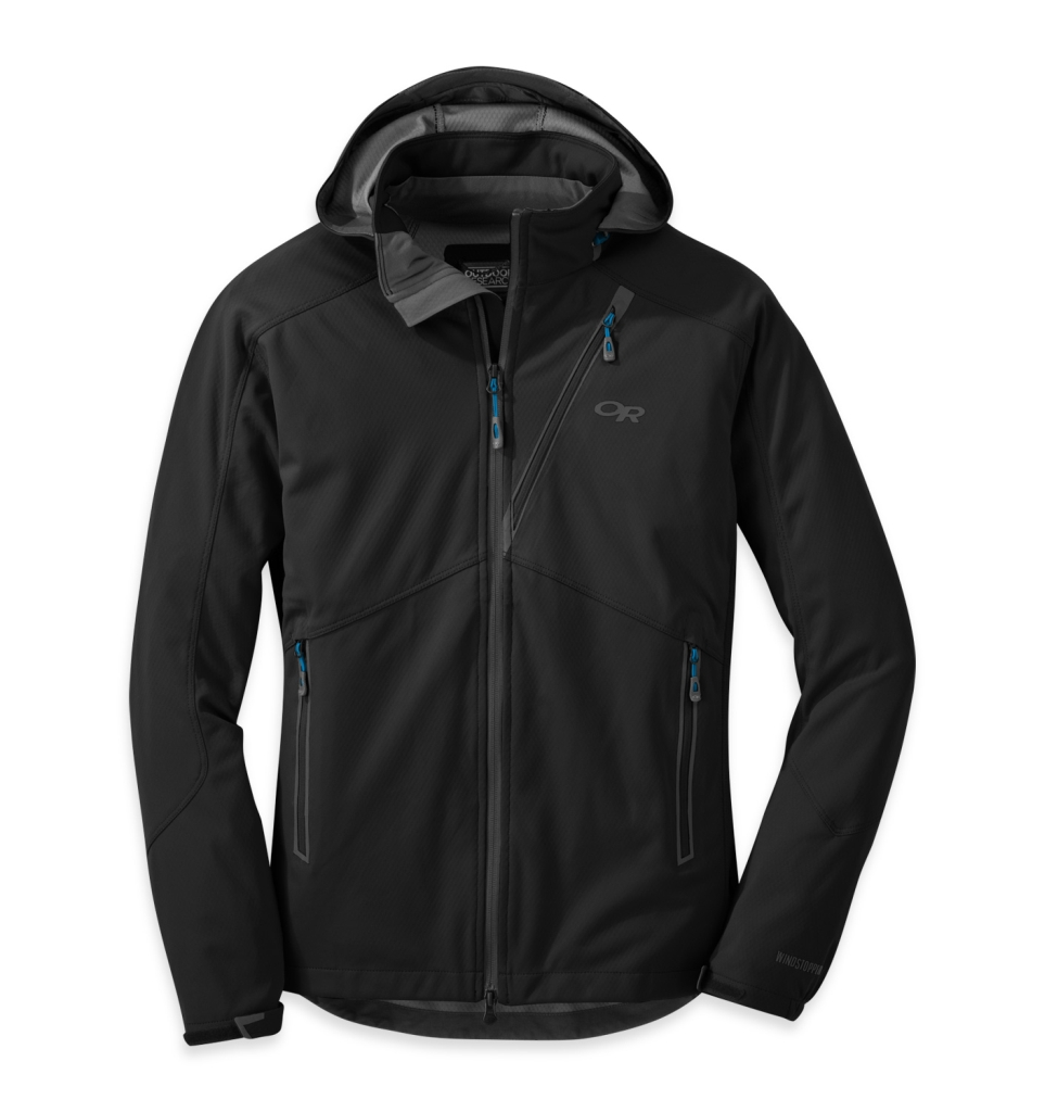 Outdoor Research Men's Linchpin Hooded Jacket Black-30