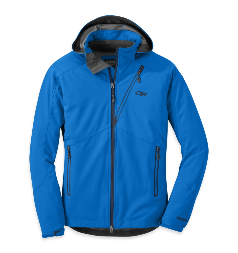 Outdoor Research Men's Linchpin Hooded Jacket Glacier-30