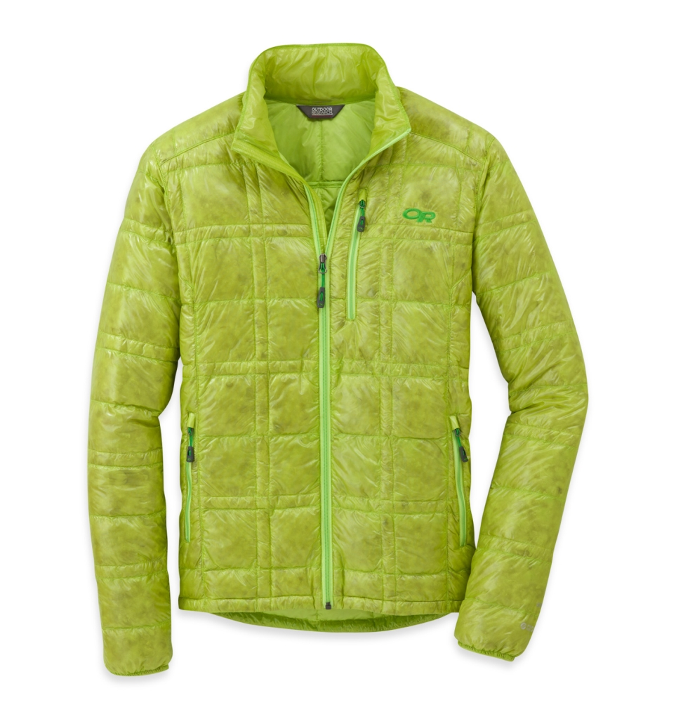 Outdoor Research Men's Filament Jacket Lemongrass-30