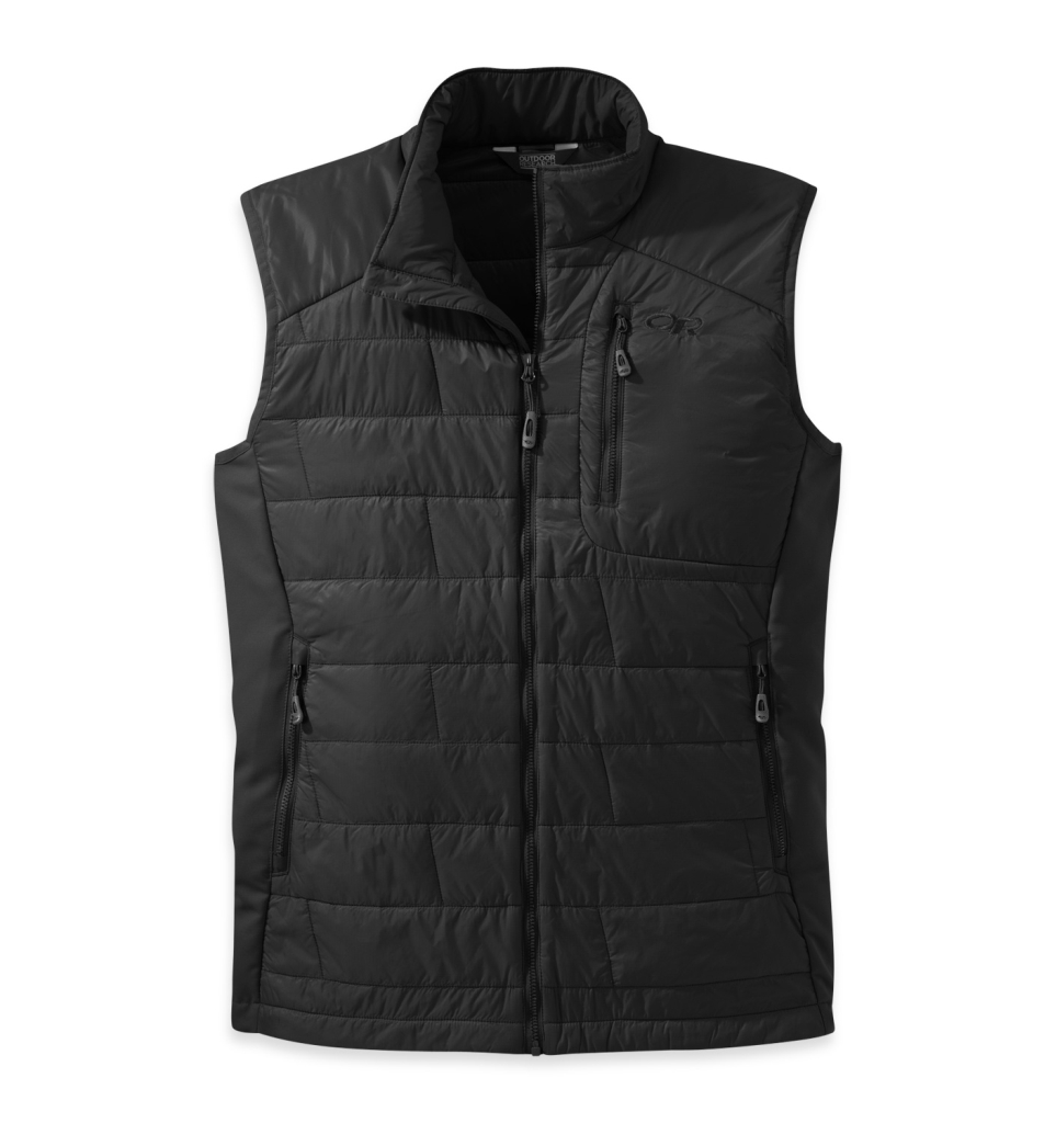 Outdoor Research Men's Cathode Vest Black/Charcol-30