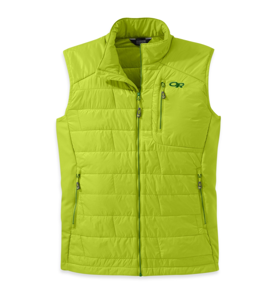Outdoor Research Men's Cathode Vest Lemongrass/Leaf-30