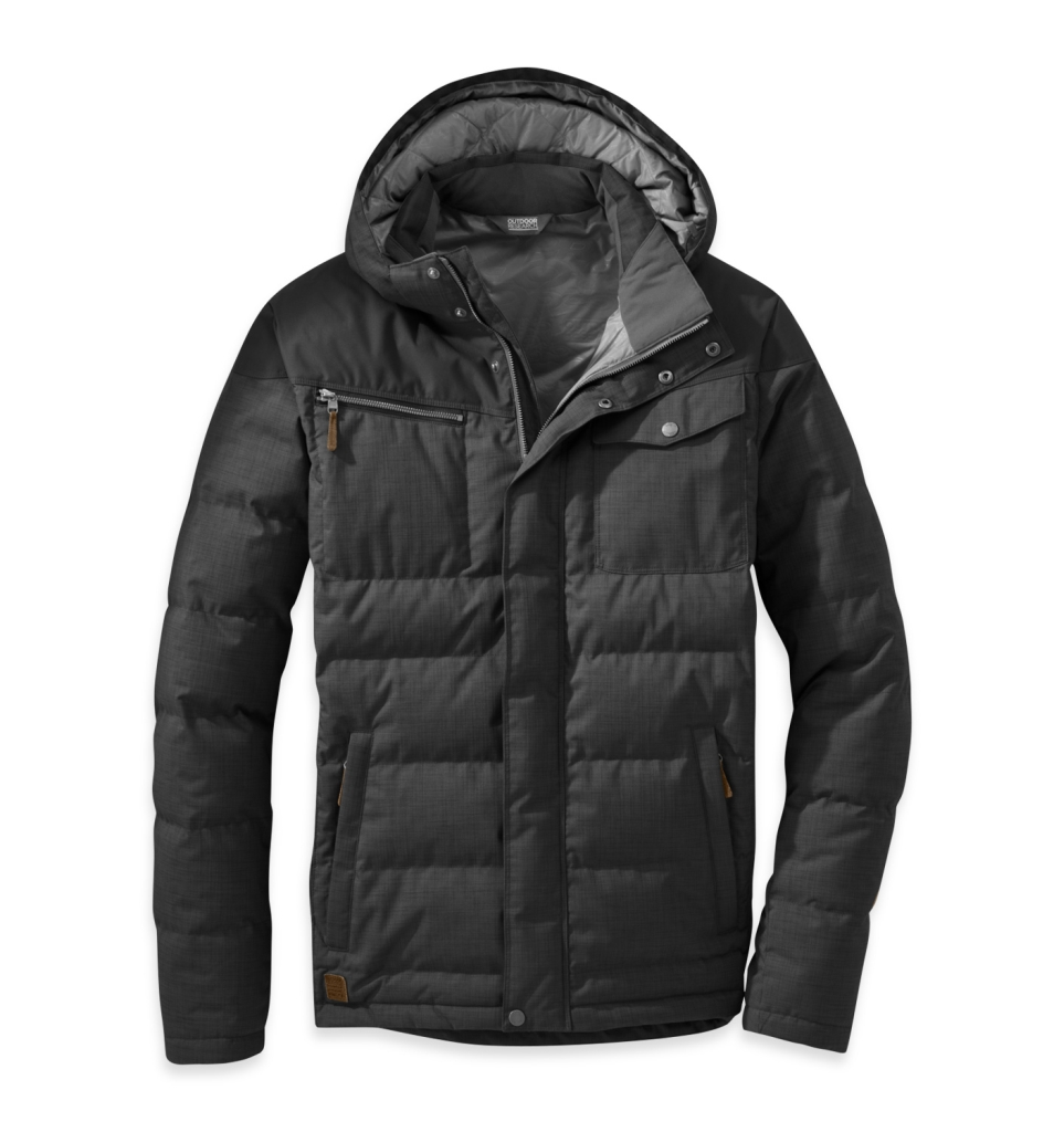 Outdoor Research Men's Whitefish Down Jacket Black-30