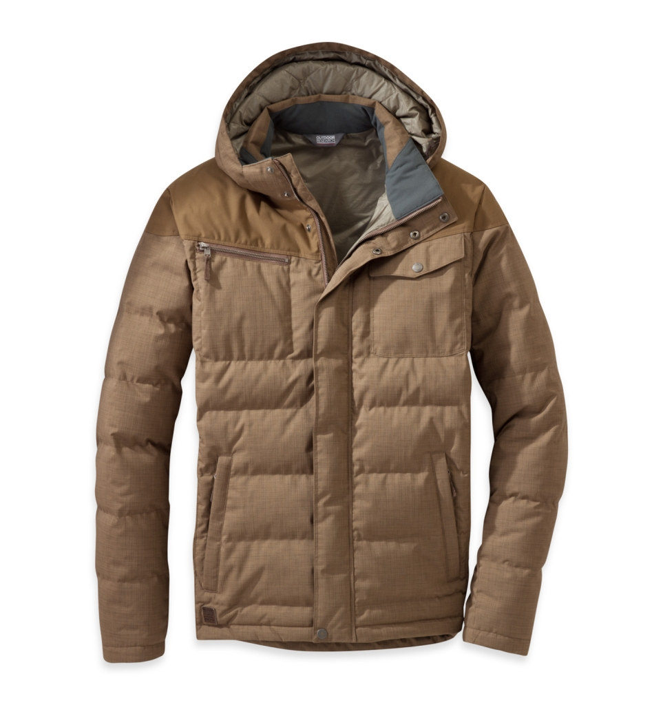 Outdoor Research Men's Whitefish Down Jacket Coyote-30