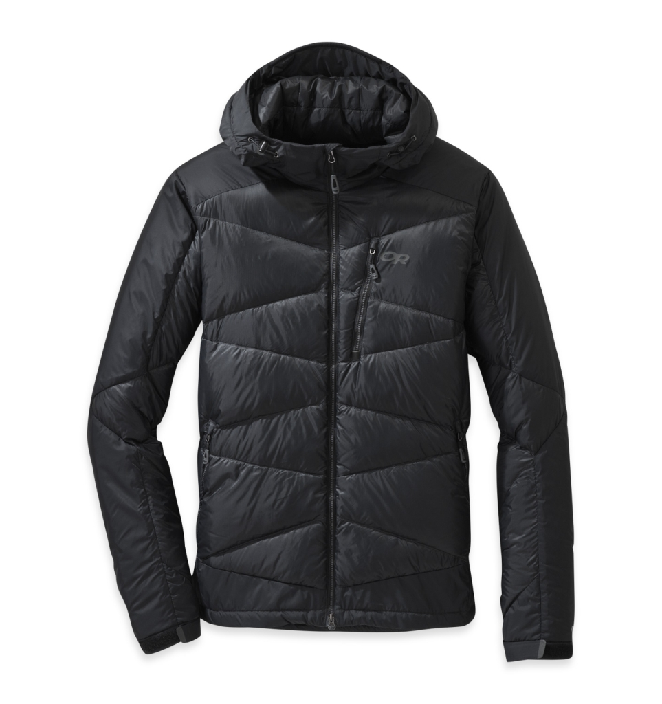 Outdoor Research Men's Diode Hooded Jacket Black-30