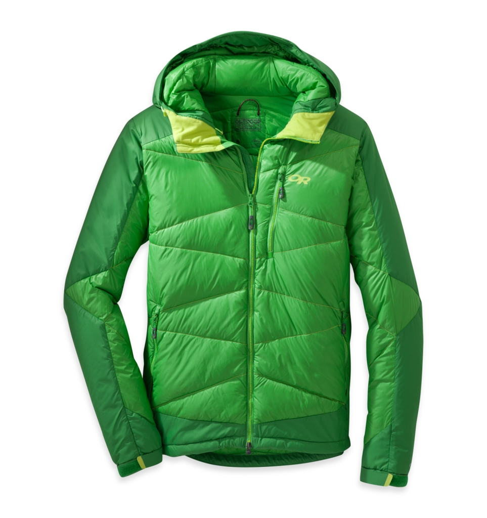 Outdoor Research Men's Diode Hooded Jacket Flash/Dk Fls-30
