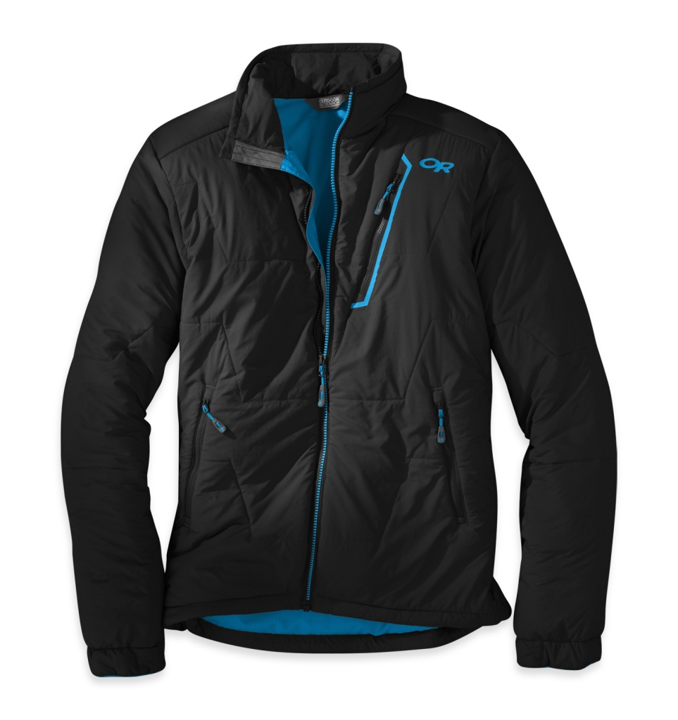 Outdoor Research Men's Superlayer Jacket Black/Hydro-30
