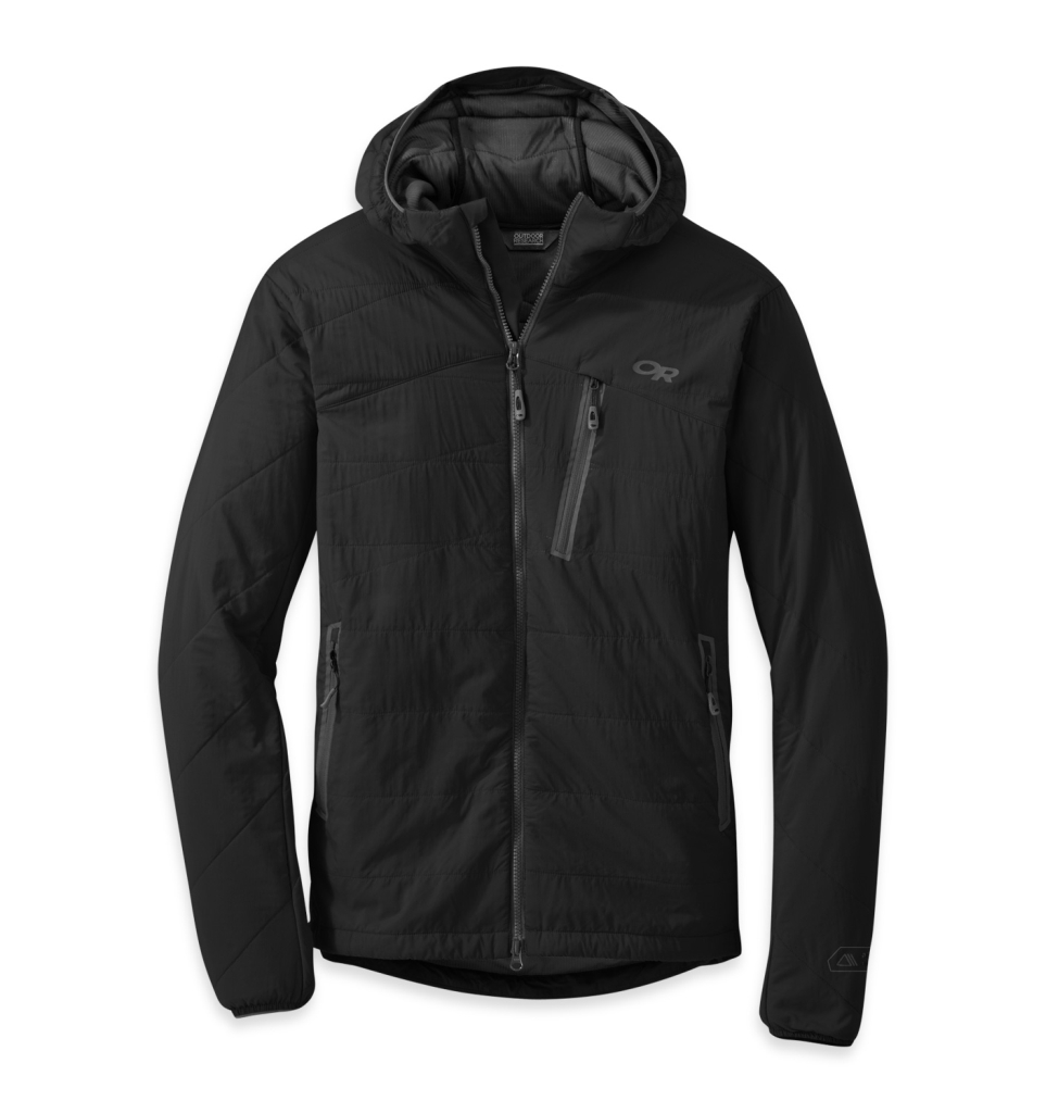 Outdoor Research Men's Uberlayer Hooded Jacket Black-30
