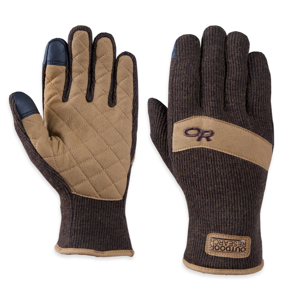 Outdoor Research Exit Sensor Gloves Earth-30