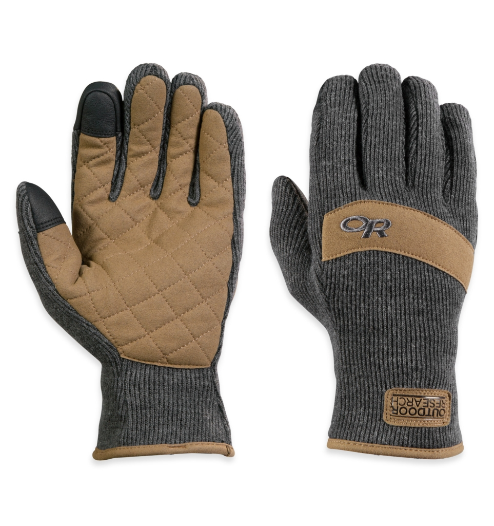 Outdoor Research Exit Sensor Gloves Charcoal-30