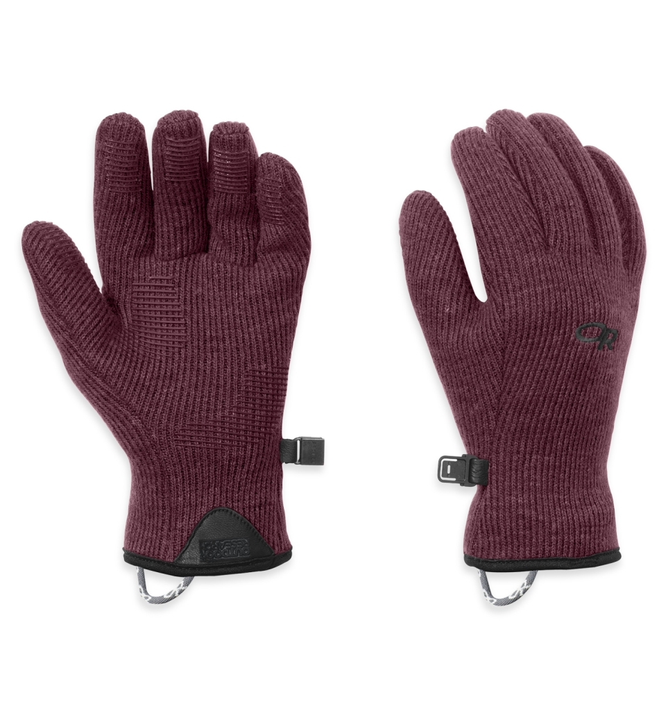 Outdoor Research Women's Flurry Gloves Pinot-30