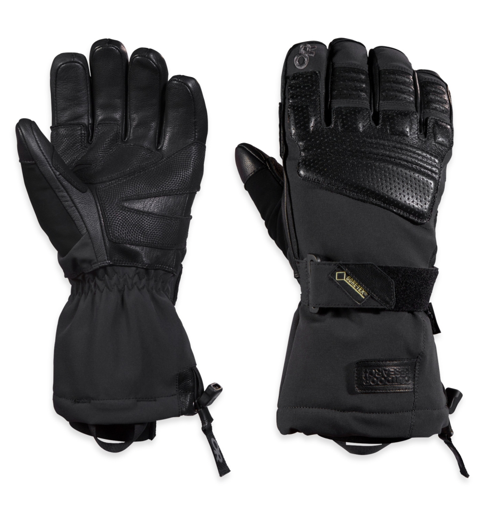 Outdoor Research Men's Olympus Sensor Gloves Black-30