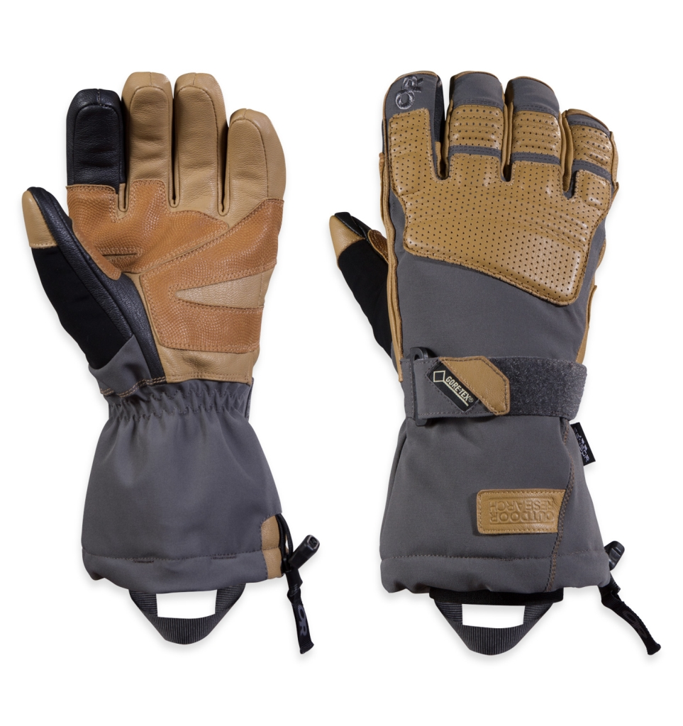 Outdoor Research Men's Olympus Sensor Gloves Charcoal/Natura-30