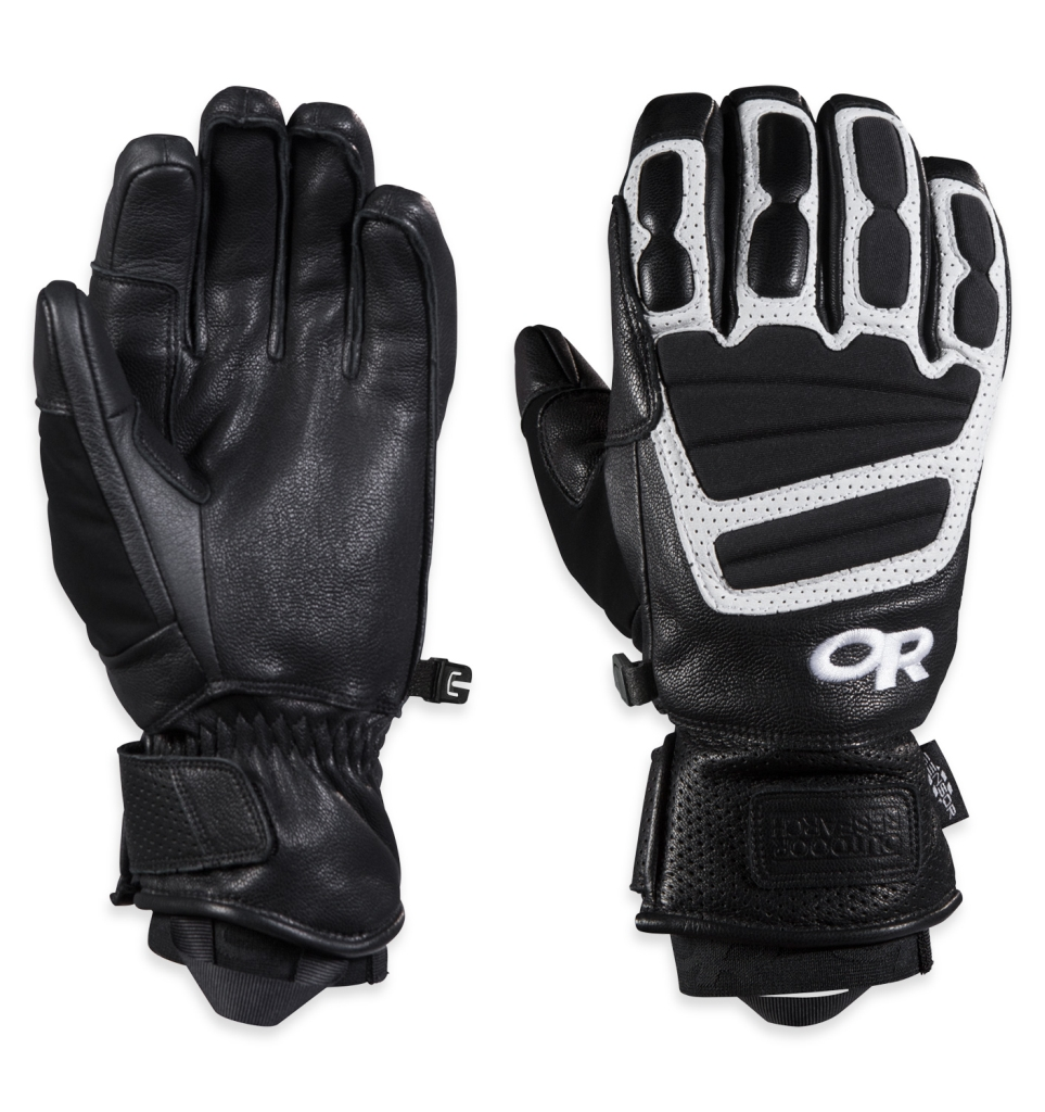 Outdoor Research Men's Mute Sensor Gloves Black/White-30