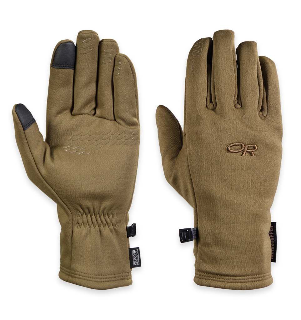 Outdoor Research Men's Backstop Sensor Gloves Coyote-30