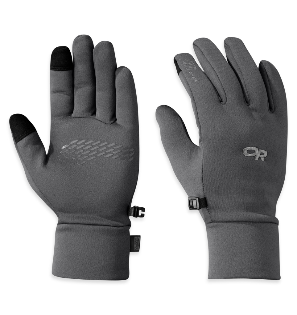 Outdoor Research Men's PL 100 Sensor Gloves Charcoal Heather-30