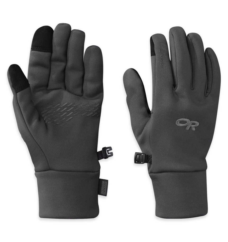 Outdoor Research Women's PL 100 Sensor Gloves Charcoal Heather-30